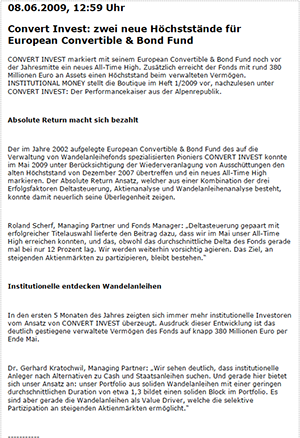 InstitutionalMoneyHochststande